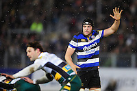 Charlie Ewels of Bath Rugby. Aviva Premiership match, between Bath Rugby and Northampton Saints on February 10, 2017 at the Recreation Ground in Bath, England. Photo by: Patrick Khachfe / Onside Images