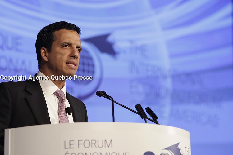 Alex Archila,<br /> President, Potash, BHP Billiton  <br /> attend the International Economic Forum of the Americas 20th Edition, from June 9-12, 2014 <br /> <br />  Photo : Agence Quebec Presse - Pierre Roussel