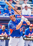 8 March 2015: New York Mets first baseman Michael Cuddyer in Spring Training action against the Boston Red Sox at Tradition Field in Port St. Lucie, Florida. The Mets fell to the Red Sox 6-3 in Grapefruit League play. Mandatory Credit: Ed Wolfstein Photo *** RAW (NEF) Image File Available ***