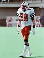 Larry Crawford BC Lions 1984. Copyright photograph Scott Grant/