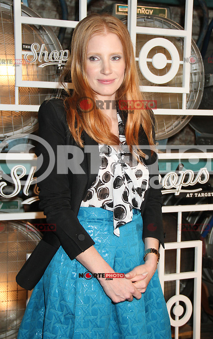 NEW YORK, NY - SEPTEMBER 5: Jessica Chastain at the Fall Installment of the Shop at Target at Highline Stages in New York City. September 5, 2012. &copy; RW/MediaPunch Inc. /NortePhoto.com<br /> <br /> **CREDITO*OBLIGATORIO** <br /> *No*Venta*A*Terceros*<br /> *No*Sale*So*third*<br /> *** No*Se*Permite*Hacer*Archivo**<br /> *No*Sale*So*third*