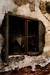 Remnants of old window in a Beijing hutong.