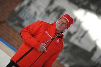 SCHAATSEN: DEVENTER: IJsbaan De Scheg, 26-10-12, IJsselcup, trainer/coach Frits Wouda, ©foto Martin de Jong