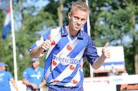 FIERLEPPEN: GRIJPSKERK: 20-08-2016, ROC Friese Poort Competitie, klassement winnaars 2016, winnaar bij de junioren Freark Kramer, ©foto Martin de Jong