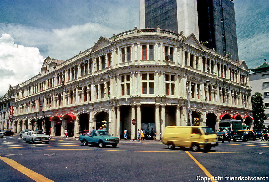 Singapore: Victorian era Commercial building. Photo '83.
