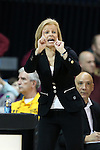 12 February 2015: Florida State head coach Sue Semrau. The University of North Carolina Tar Heels hosted the Florida State University Seminoles at Carmichael Arena in Chapel Hill, North Carolina in a 2014-15 NCAA Division I Women's Basketball game. UNC won the game 71-63.