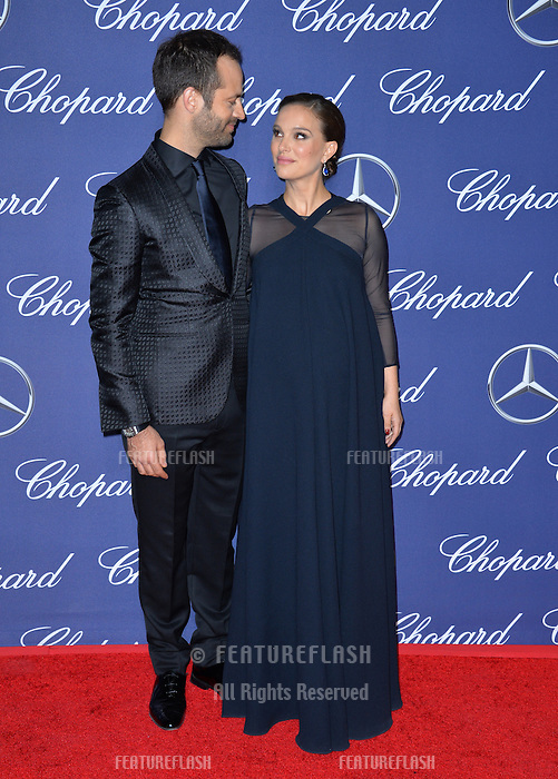 Actress Natalie Portman husband actor Benjamin Millepied at the 2017 Palm Springs Film Festival Awards Gala. January 2, 2017<br /> Picture: Paul Smith/Featureflash/SilverHub 0208 004 5359/ 07711 972644 Editors@silverhubmedia.com