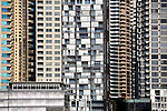 Apartment blocks on Darling Harbour in central Sydney, New South Wales, AUSTRALIA