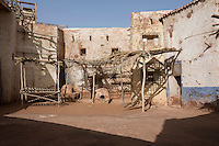 Morocco - Ouarzazate - Located within Atlas Corporation Studios, this décor has been mainly used as a Middle Eastern or Afghan village in several TV series, war movies and documentaries, including some on the Talibans and ISIS, Prince of Persia, The Mummy, Hercules, The Passion and James Bond's The Living Daylights.
