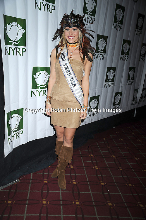 Miss Teen USA Stevi Perry ..at Bette Midler's New York Restoration Project's 13th Annual Hulaween Gala on October 31, 2008 at The Waldorf Astoria in New York City. ....Robin Platzer, Twin Images