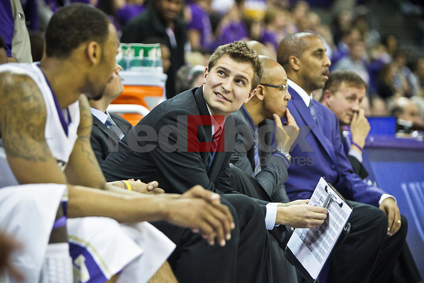 Trevor Wade - University of Washington Huskies take on the Seattle University Redhawks at Hec Edmundson Pavilion at Alaska Airlines Arena in Seattle Tuesday, Jan. 10, 2012. (Photography by Andy Rogers/Red Box Pictures)