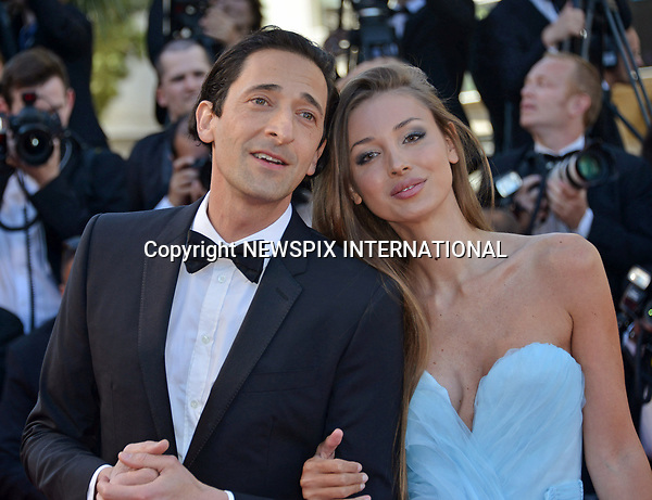 17.05.2017; Cannes, France: ADRIEN BRODY AND LARA LIETO<br /> attend the premiere of &quot;Les Fantomes d'Ismael&quot; at the 70th Cannes Film Festival, Cannes<br /> Mandatory Credit Photo: &copy;NEWSPIX INTERNATIONAL<br /> <br /> IMMEDIATE CONFIRMATION OF USAGE REQUIRED:<br /> Newspix International, 31 Chinnery Hill, Bishop's Stortford, ENGLAND CM23 3PS<br /> Tel:+441279 324672  ; Fax: +441279656877<br /> Mobile:  07775681153<br /> e-mail: info@newspixinternational.co.uk<br /> Usage Implies Acceptance of Our Terms &amp; Conditions<br /> Please refer to usage terms. All Fees Payable To Newspix International