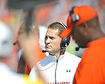 Ole Miss vs. Auburn Coach Gene Chizik  at Vaught-Hemingway Stadium in Oxford, Miss. on Saturday, October 13, 2012.