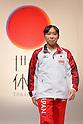 Kyoko Oshima (JPN), September 12, 2011 - Artistic Gymnastics : Kyoko Oshima attends press conference in Tokyo, Japan, regarding the Artistic Gymnastics World Championships 2011 Tokyo. (Photo by Yusuke Nakanishi/AFLO SPORT) [1090]