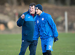 St Johnstone Training&hellip;03.02.17<br />Manager Tommy Wright talks with strike Graham Cummins during training this morning at McDiarmid Park ahead of Snday&rsquo;s game against Celtic.<br />Picture by Graeme Hart.<br />Copyright Perthshire Picture Agency<br />Tel: 01738 623350  Mobile: 07990 594431