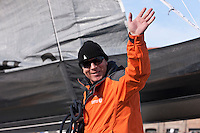 Transat Jacques Vabre 2011. Le Havre. France.Pictures of Mike Golding, skipper of Gamesa