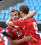 Fussball U 21 EURO 2011: Schweiz - Island
