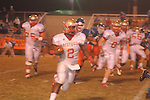 Lafayette High's D.K. Buford (2) vs. North Pontotoc in high school football in Pontotoc, Miss. on Thursday, October 24, 2012. Lafayette High won 38-0.