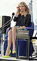 "Brooklyn Decker, Apr 02, 2012 : Yokosuka, Japan : model Brooklyn Decker attends the press conference for the film ""Battleship"" on the deck of the USS George Washington at U.S. Fleet Activities Yokosuka, in Yokosuka, Japan, on April 2, 2012. The film will open on April 13 in Japan."