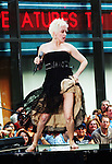"""New York, NY - August 4, 2006:Cyndi Lauper performs on NBC's """"Today Show"""" Toyota Concert Series at Rockefeller Plaza in New York City, New York on Friday, August 4, 2006."""