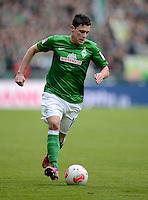 FUSSBALL   1. BUNDESLIGA   SAISON 2012/2013    26. SPIELTAG SV Werder Bremen - Greuther Fuerth                        16.03.2013 Zlatko Junuzovic (SV Werder Bremen) Einzelaktion am Ball