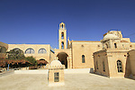 Greek Orthodox St. Theodosius Monastery in the Judean desert