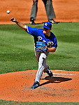 14 September 2008: Kansas City Royals' starting pitcher Brian Bannister on the mound against the Cleveland Indians at Progressive Field in Cleveland, Ohio. The Royal defeated the Indians 13-3 to take the 4-game series three games to one...Mandatory Photo Credit: Ed Wolfstein Photo