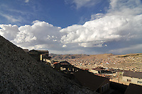 Potosi seen from Cerro Rico silver mines, Potosi, Bolivia