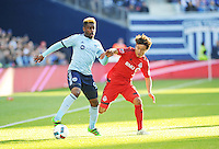 Kansas City, Kansas - Sunday, March 20, 2016: Sporting Kansas City defeated Toronto FC 1-0 at Children's Mercy Park.