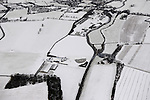 Aerial Winter Snowscapes