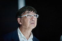 Toyo Ito during the Lexus Design Amazing 2014, on April 08, 2014. Photo: Adamo Di Loreto/BuenaVista*photo