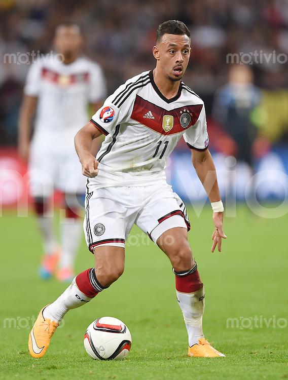 Fussball International EM 2016-Qualifikation  Gruppe D  in Gelsenkirchen 14.10.2014 Deutschland - Irland Karim Bellarabi (Deutschland)
