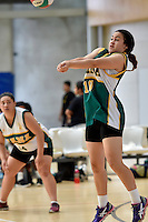 Action from the Volleyball - Senior Tournament at ASB Sports Centre, Kilbirnie, New Zealand on Friday 6 March 2015. <br /> Photo by Masanori Udagawa. <br /> www.photowellington.photoshelter.com.