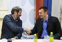 20150527: SLO, Handball - Veselin Vujovic, new head coach of Slovenian National Team