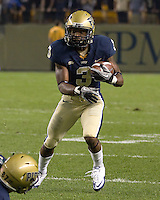 Pitt wide receiver Darius Patton. The Pitt Panthers defeated the USF Bulls 44-17 on September 29, 2011 at Heinz Field in Pittsburgh Pennsylvania.