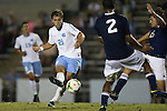 28 October 2014: North Carolina's Alex Olofson (28). The University of North Carolina Tar Heels hosted the Georgia Southern University Eagles at Fetzer Field in Chapel Hill, NC in a 2014 NCAA Division I Men's Soccer match. North Carolina won the game 6-2.