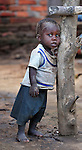 A boy in Karonga, a town in northern Malawi.