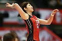 Maiko Kano (JPN), .May 26, 2012 - Volleyball : .FIVB Women's Volleyball World Final Qualification for the London Olympics 2012 .match between Japan 0-3 Russia .at Tokyo Metropolitan Gymnasium, Tokyo, Japan. .(Photo by Daiju Kitamura/AFLO SPORT) [1045]
