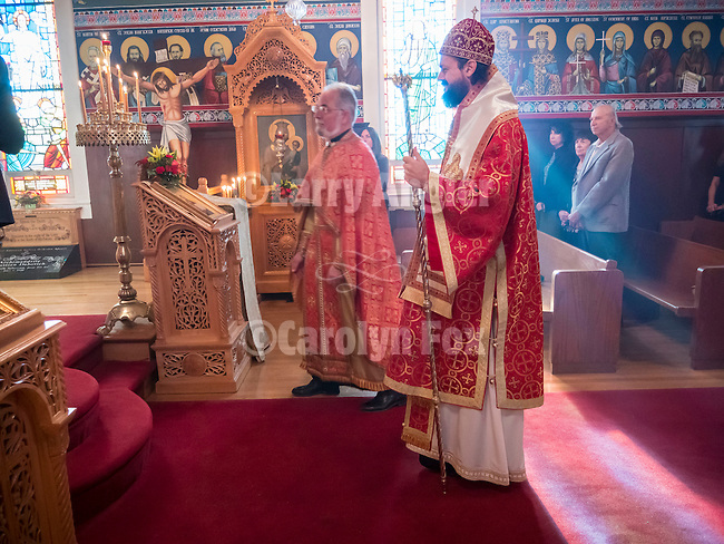 Bishop Maxim visits St. Sava Church on December 1 for book signing with Milina Gajic-Jovanovic author of the book &quot;All Roads Lead to Jackson&quot;.<br /> <br /> Celebration of the Pomen to honor the founders of the church and the late Cedo Saraba