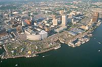 1987 June ..Redevelopment.Downtown South (R-9)..WATERFRONT.HARBORFEST.LOOKING NORTHEAST...NEG#.NRHA#..
