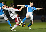 St Johnstone v Rangers&hellip;28.12.16     McDiarmid Park    SPFL<br />Blair Alston and Danny Wilson<br />Picture by Graeme Hart.<br />Copyright Perthshire Picture Agency<br />Tel: 01738 623350  Mobile: 07990 594431