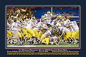 The Michigan Wolverines Win the 2012 Allstate Sugar Bowl<br />