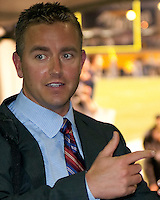 ESPN college football analyst Keith Herbstreit. The Pittsburgh Panthers defeat the Notre Dame Irish 27-22 at Heinz Field, Pittsburgh Pennsylvania on November 14, 2009..
