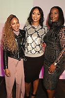 NEW YORK, NY - NOVEMBER 16: Meagan Good, Keri Hilson and Ethiopia Habtemariam at the Sixth Annual WEEN Awards at ESPACE on November 16, 2016. Credit: Walik Goshorn/MediaPunch