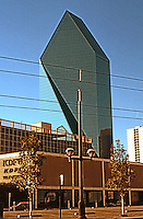 Texas: Dallas--First Interstate Building, from south.