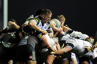 Dominic Day of Bath Rugby in action at a maul. Aviva Premiership match, between Harlequins and Bath Rugby on March 11, 2016 at the Twickenham Stoop in London, England. Photo by: Patrick Khachfe / Onside Images