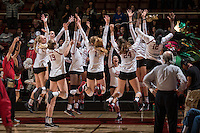Stanford Volleyball W vs USC, November 10, 2016