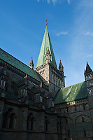 Nidaros cathedral, Trondheim, Norway