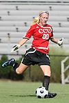 24 August 2008: Carolina's Honour Trosper. The Duke University Blue Devils defeated the Coastal Carolina University Lady Chanticleers 9-0 at Koskinen Stadium in Durham, North Carolina in an NCAA Division I Women's college soccer game.