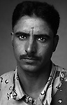 Pvt. Hussein Kalef Abood, 32, Samawah, Driver, 4th Co., 2nd Battalion, 7th Division of the Iraqi Army in Haditha, Iraq on Mon. Nov. 28, 2005.